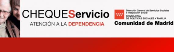 Requisitos del Cheque Servicio de la Comunidad de Madrid
